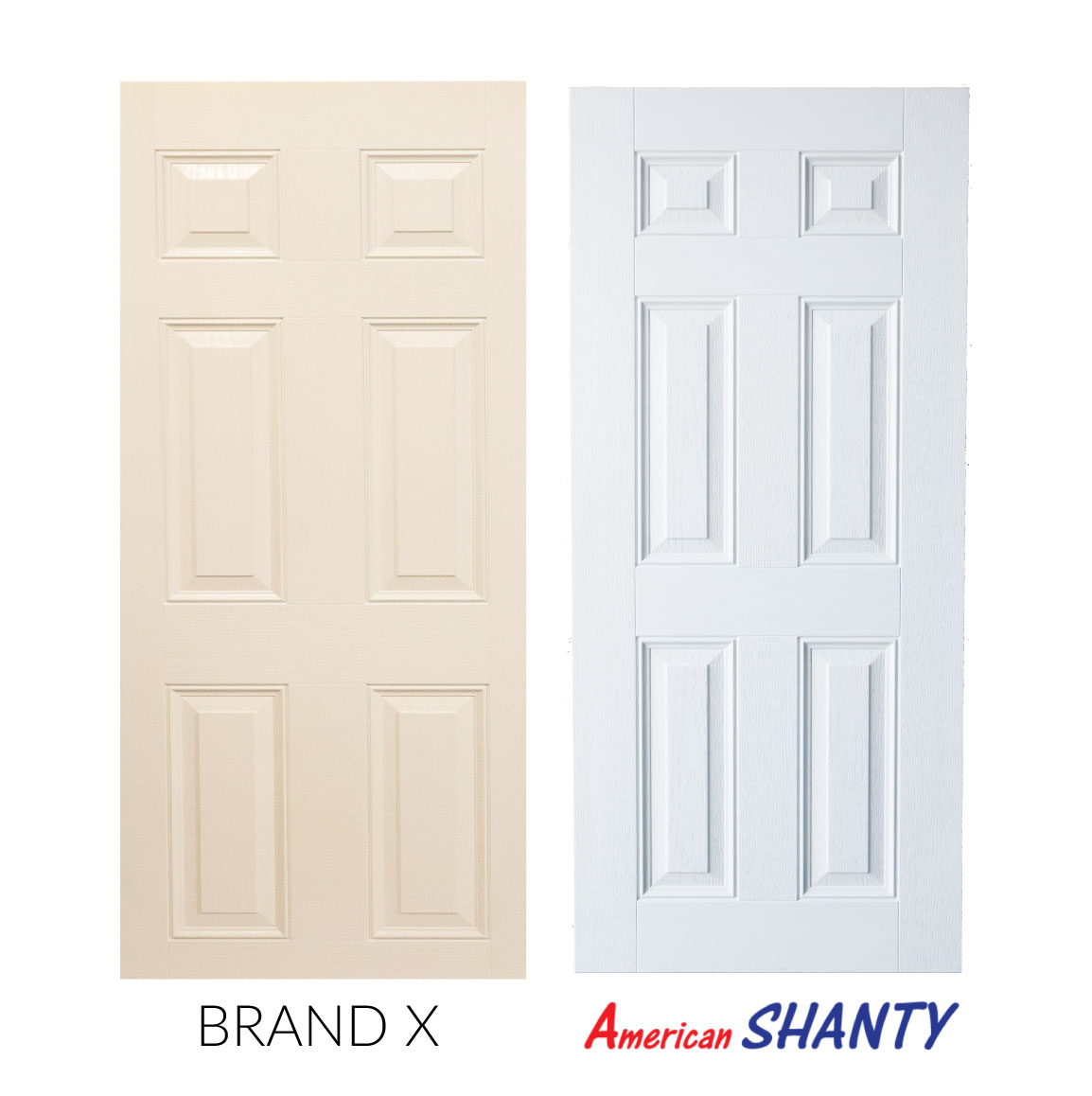 Tru Shed Door Perfectly Proportioned & Built to Last | American Shanty